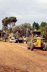 Council's Road Construction