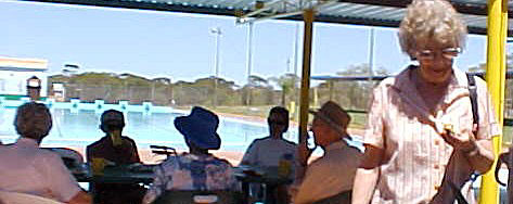 Seniors Week at the Three Springs Swimming Pool